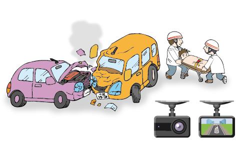 自動車事故、ドライブレコーダー